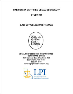 Law Office Administration (LOA)